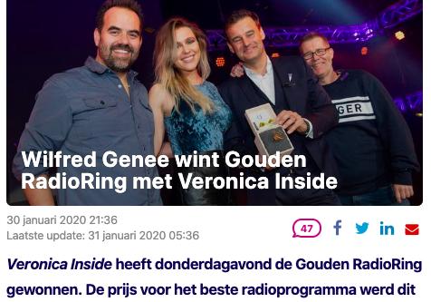 Gouden RadioRing 11-02