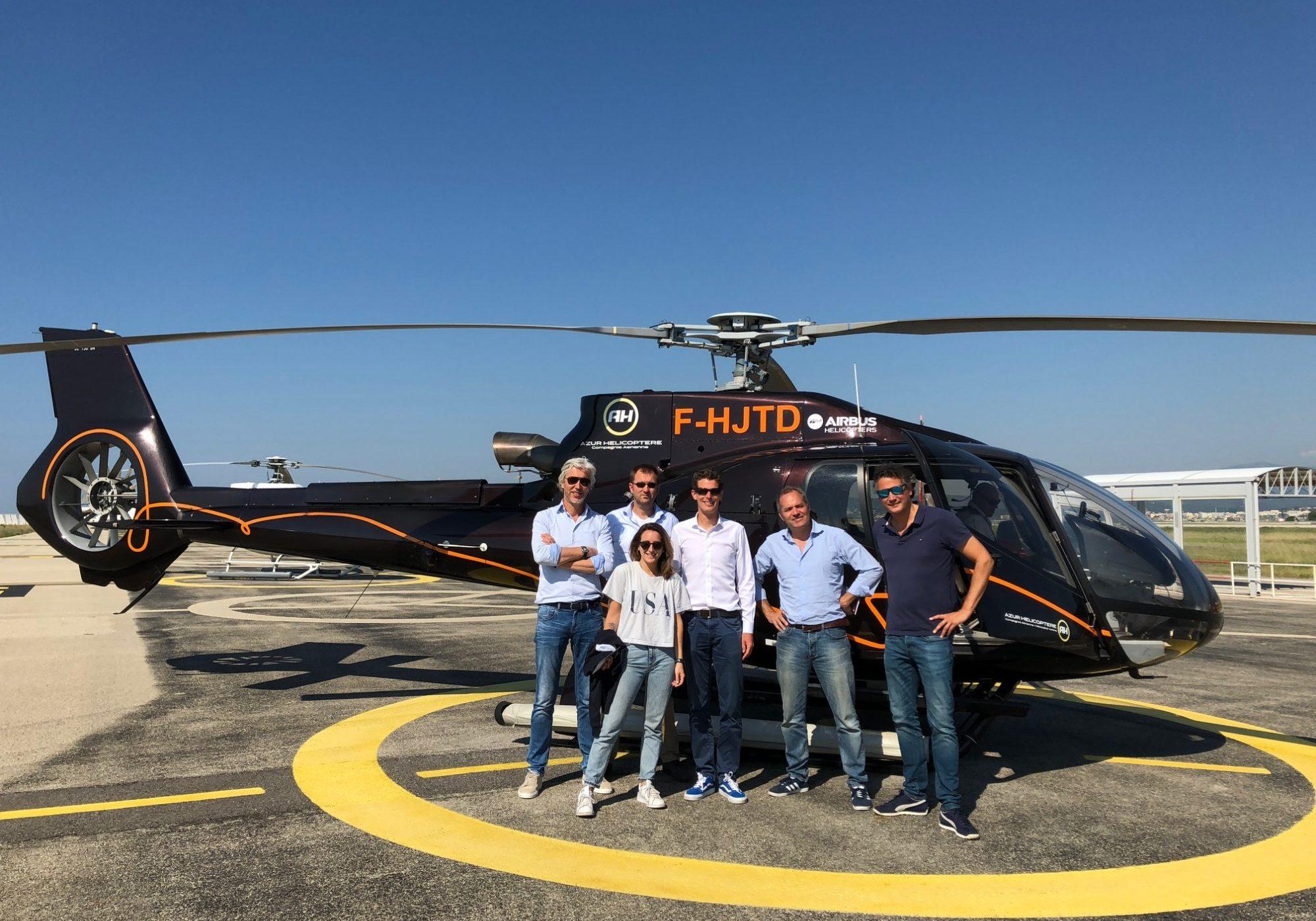 gratis helikoptervlucht voor Nederlandse bezoekers Cannes Lions